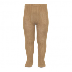 Basic rib tights CAMEL