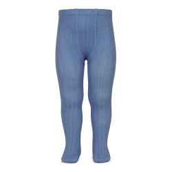 Basic rib tights FRENCH BLUE