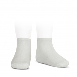 Elastic cotton ankle socks PEARLY