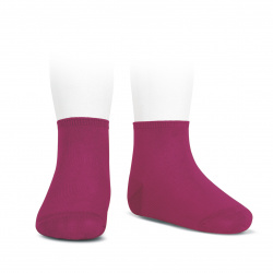 Elastic cotton ankle socks BUGAMBILIA