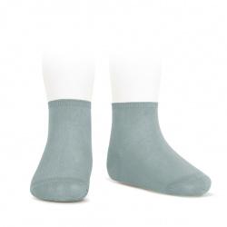 Elastic cotton ankle socks DRY GREEN