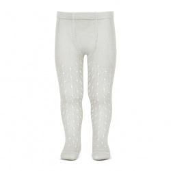 Perle openwork tights lateral spike PEARLY