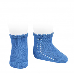 Perle side openwork short socks MAYAN