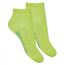 Basic ankle socks GREEN