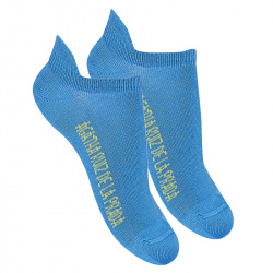Basic trainer socks ELECTRIC BLUE