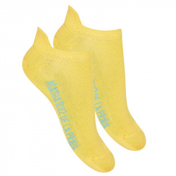 Basic trainer socks YELLOW