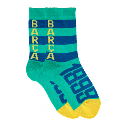 Kids free spirit barça 1899 short socks