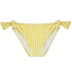 Sunshine upf 50 knotted bikini bottom LIMONCELLO