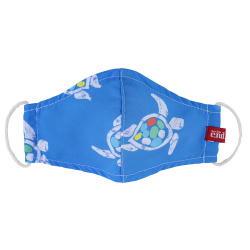 Turtles reusable hygienic mask ELECTRIC BLUE
