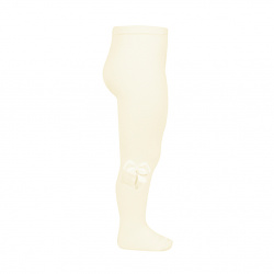 Tights with side grossgran bow BEIGE