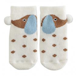 Doggy non-slip short socks BEIGE