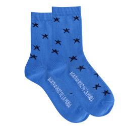 Bright star socks ELECTRIC BLUE