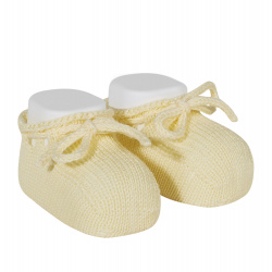 Booties with cord BUTTER