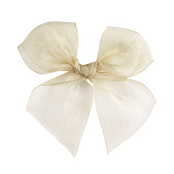 Hairclip with organza bow LINEN