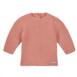 Garter stitch sweater PEONY