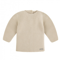 Garter stitch sweater LINEN
