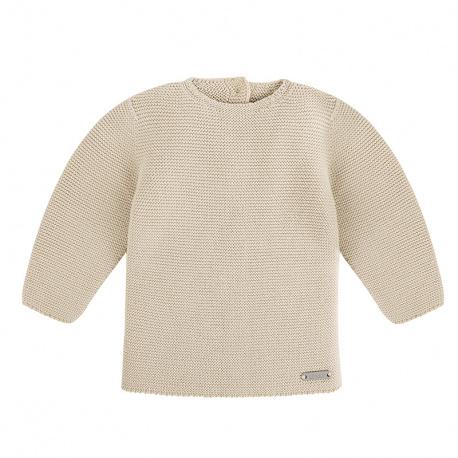 Garter stitch sweater LINEN