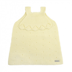 Links stitch openwork dress BUTTER