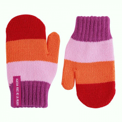 Multicolour one-finger mittens BUGAMBILIA