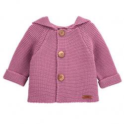Boys garter stitch short coat CASSIS