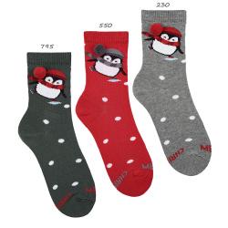 Calcetines de navidad pingüino
