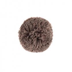 Fermaglio per capelli con pompon TRONCO