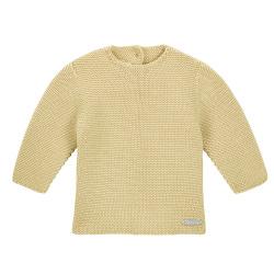 Garter stitch sweater BANANA