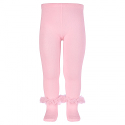 Tulle ruffle tights PINK