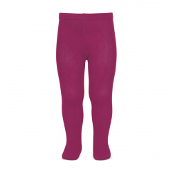 Plain stitch basic tights PETUNIA