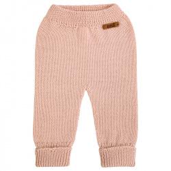 Merino blend trousers NUDE